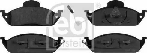 Febi Bilstein 16410 - Piduriklotsi komplekt,ketaspidur multiparts.ee