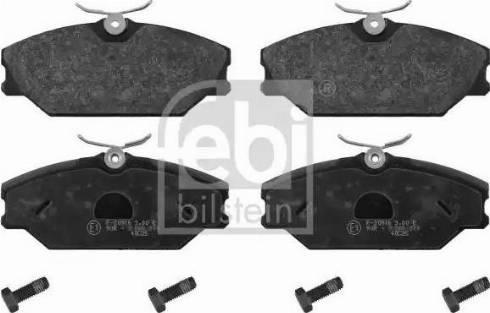 Febi Bilstein 16429 - Piduriklotsi komplekt,ketaspidur multiparts.ee