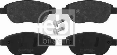 Febi Bilstein 16422 - Piduriklotsi komplekt,ketaspidur multiparts.ee