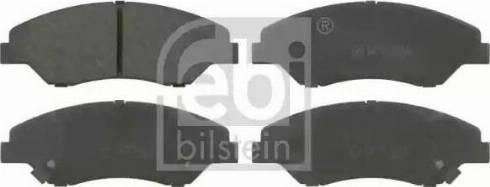 Febi Bilstein 16557 - Piduriklotsi komplekt,ketaspidur multiparts.ee