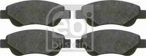 Febi Bilstein 16589 - Piduriklotsi komplekt,ketaspidur multiparts.ee