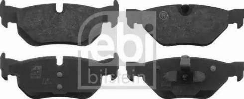 Febi Bilstein 16533 - Piduriklotsi komplekt,ketaspidur multiparts.ee