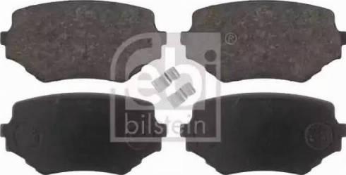 Febi Bilstein 16647 - Piduriklotsi komplekt,ketaspidur multiparts.ee