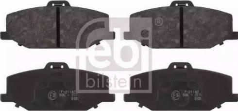Febi Bilstein 16655 - Piduriklotsi komplekt,ketaspidur multiparts.ee