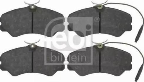 Febi Bilstein 16049 - Piduriklotsi komplekt,ketaspidur multiparts.ee