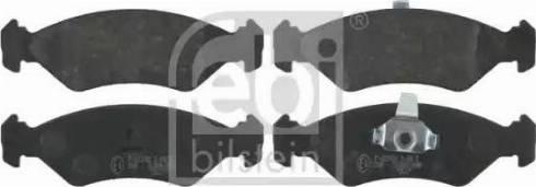 Febi Bilstein 16042 - Piduriklotsi komplekt,ketaspidur multiparts.ee