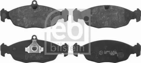 Febi Bilstein 16055 - Piduriklotsi komplekt,ketaspidur multiparts.ee