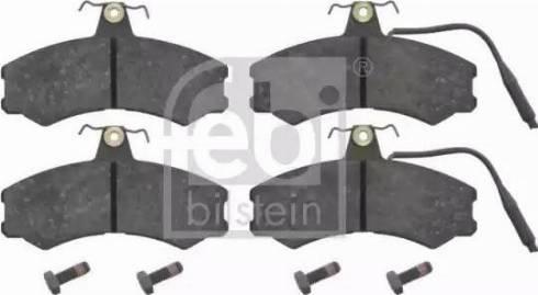 Febi Bilstein 16051 - Piduriklotsi komplekt,ketaspidur multiparts.ee