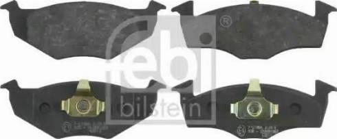 Febi Bilstein 16006 - Piduriklotsi komplekt,ketaspidur multiparts.ee