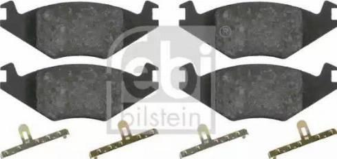 Febi Bilstein 16011 - Piduriklotsi komplekt,ketaspidur multiparts.ee