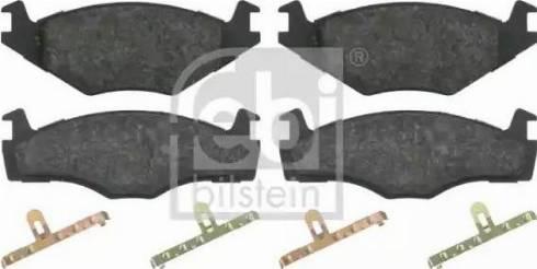 Febi Bilstein 16012 - Piduriklotsi komplekt,ketaspidur multiparts.ee