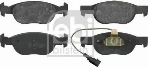 Febi Bilstein 16089 - Piduriklotsi komplekt,ketaspidur multiparts.ee