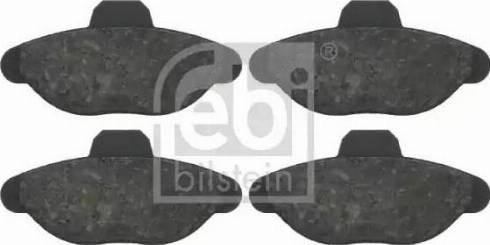 Febi Bilstein 16082 - Piduriklotsi komplekt,ketaspidur multiparts.ee