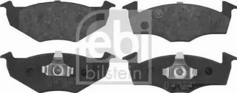 Febi Bilstein 16072 - Piduriklotsi komplekt,ketaspidur multiparts.ee