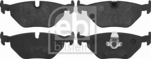 Febi Bilstein 16190 - Piduriklotsi komplekt,ketaspidur multiparts.ee