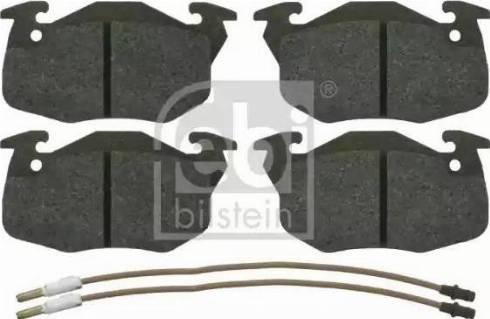 Febi Bilstein 16192 - Piduriklotsi komplekt,ketaspidur multiparts.ee