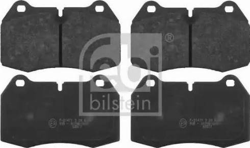 Febi Bilstein 16109 - Piduriklotsi komplekt,ketaspidur multiparts.ee