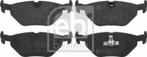 Febi Bilstein 16176 - Piduriklotsi komplekt,ketaspidur multiparts.ee