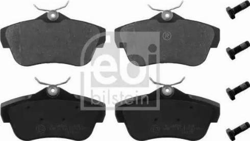 Febi Bilstein 16891 - Piduriklotsi komplekt,ketaspidur multiparts.ee