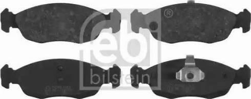 Febi Bilstein 16238 - Piduriklotsi komplekt,ketaspidur multiparts.ee