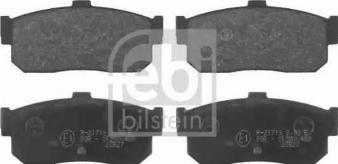 Febi Bilstein 16271 - Piduriklotsi komplekt,ketaspidur multiparts.ee