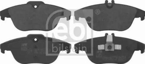 Febi Bilstein 16736 - Piduriklotsi komplekt,ketaspidur multiparts.ee