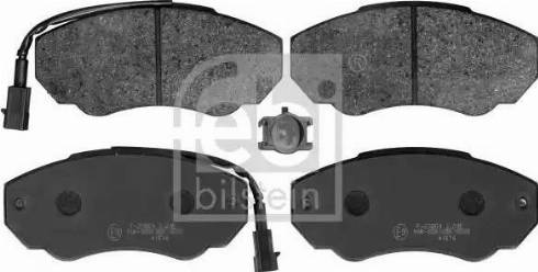 Febi Bilstein 116049 - Piduriklotsi komplekt,ketaspidur multiparts.ee
