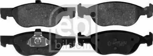 Febi Bilstein 116050 - Piduriklotsi komplekt,ketaspidur multiparts.ee