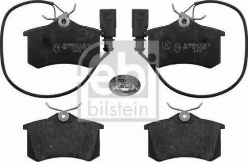Febi Bilstein 116018 - Piduriklotsi komplekt,ketaspidur multiparts.ee