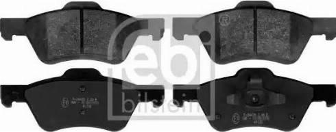 Febi Bilstein 116071 - Piduriklotsi komplekt,ketaspidur multiparts.ee