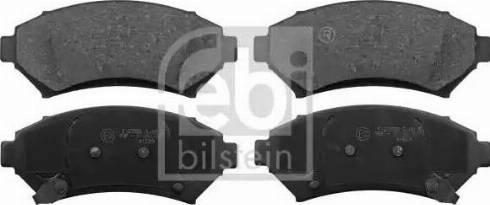 Febi Bilstein 116156 - Piduriklotsi komplekt,ketaspidur multiparts.ee