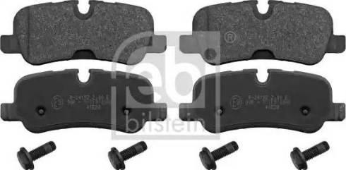 Febi Bilstein 116118 - Piduriklotsi komplekt,ketaspidur multiparts.ee