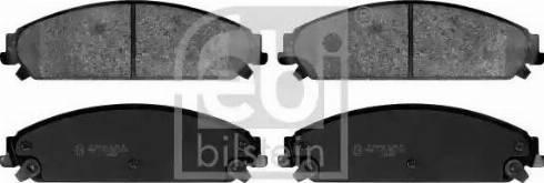 Febi Bilstein 116112 - Piduriklotsi komplekt,ketaspidur multiparts.ee