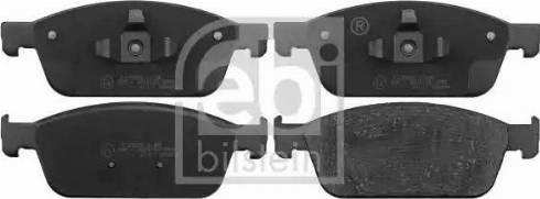 Febi Bilstein 116226 - Piduriklotsi komplekt,ketaspidur multiparts.ee