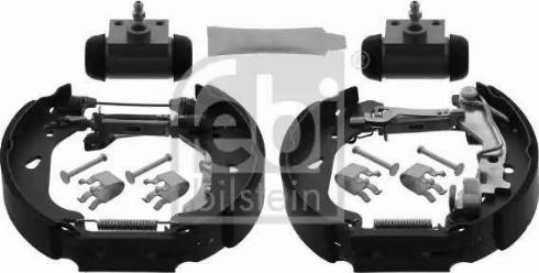 Febi Bilstein 38744 - Piduriklotside komplekt multiparts.ee