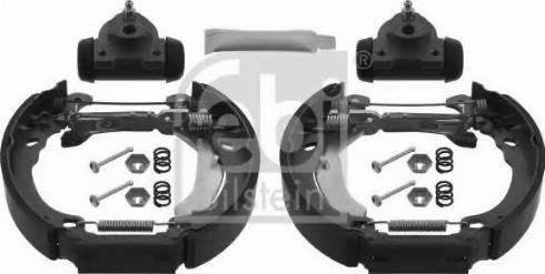 Febi Bilstein 38746 - Piduriklotside komplekt multiparts.ee