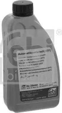 Febi Bilstein 29449 - Automaatkäigukasti õli multiparts.ee