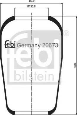 Febi Bilstein 20673 - Lõõts,õhkvedrustus multiparts.ee