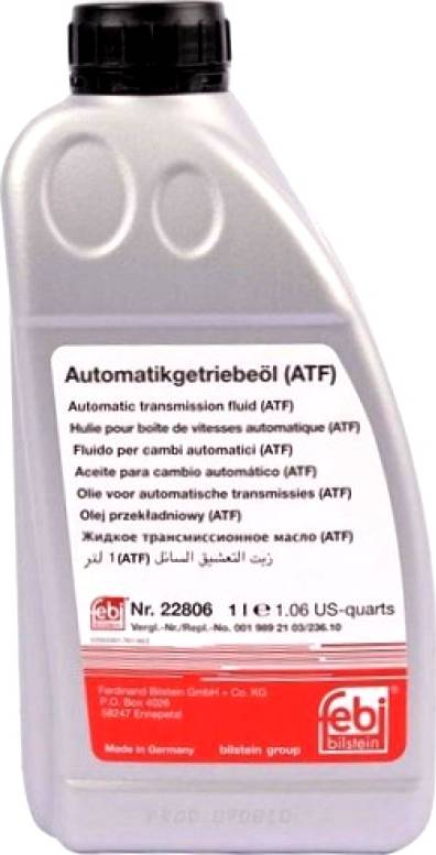 Febi Bilstein 22806 - Automaatkäigukasti õli multiparts.ee