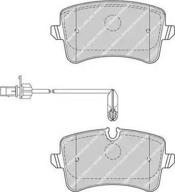 Ferodo FDB4410 - Piduriklotsi komplekt,ketaspidur multiparts.ee
