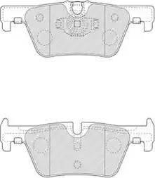 Ferodo FDB4670 - Piduriklotsi komplekt,ketaspidur multiparts.ee