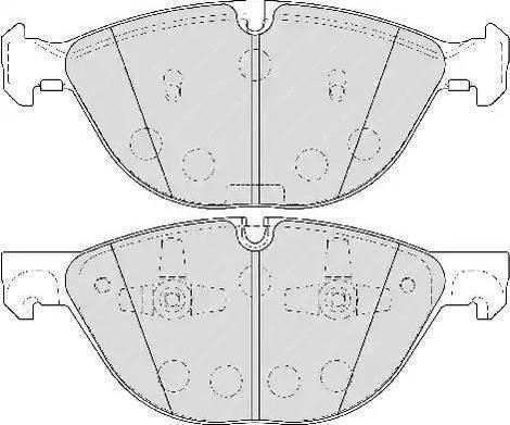 Ferodo FDB4079 - Piduriklotsi komplekt,ketaspidur multiparts.ee