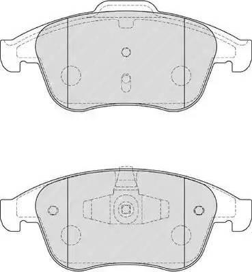 Ferodo FDB4181 - Piduriklotsi komplekt,ketaspidur multiparts.ee