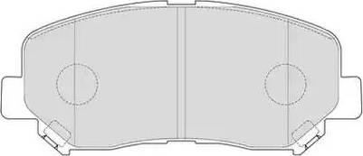 Ferodo FDB4357 - Piduriklotsi komplekt,ketaspidur multiparts.ee