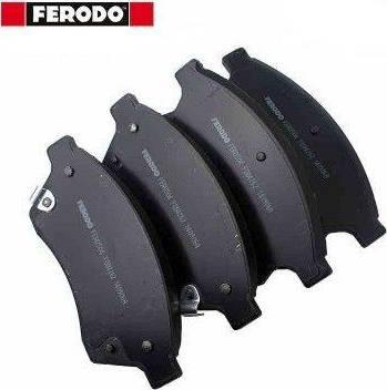 Ferodo FDB4262 - Piduriklotsi komplekt,ketaspidur multiparts.ee