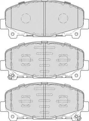 Ferodo FDB4270 - Piduriklotsi komplekt,ketaspidur multiparts.ee