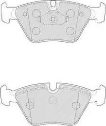 Ferodo FDB4752 - Piduriklotsi komplekt,ketaspidur multiparts.ee
