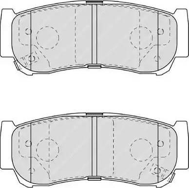 Ferodo FDB1910 - Piduriklotsi komplekt,ketaspidur multiparts.ee