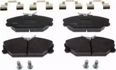 Ferodo FDB1420 - Piduriklotsi komplekt,ketaspidur multiparts.ee