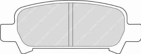 Ferodo FDB1333 - Piduriklotsi komplekt,ketaspidur multiparts.ee